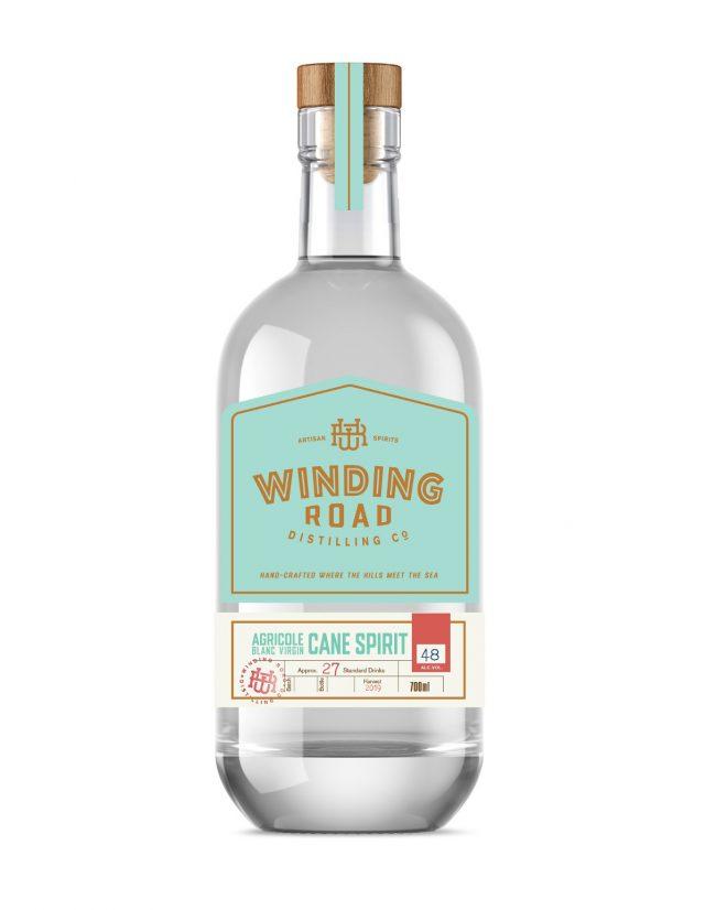 WR Winding Road Distilling Co Agricole Blanc Virgin Cane Spirit