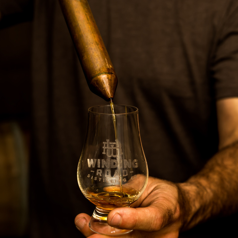 Glencairn Glass Winding Road Distilling Co.